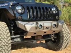 """Jeep Wrangler JK 07-18 - Front Bumpers & Stingers - MOTOBILT JEEP JK """"THE HAMMER"""" SKID PLATE - MB1036"""