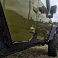 Rocker Armor - Jeep Wrangler JK 07-PRESENT - MOTOBILT JEEP JK UNLIMITED ROCKER ARMOR - MB1014