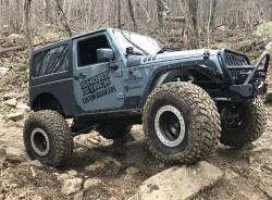 Rocker Armor - Jeep Wrangler JK 07-PRESENT - JEEP JK ROCKER GUARDS WITH STEP - MB1067