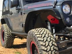 Motobilt - JEEP JK ROCKER GUARDS WITH STEP - MB1067 - Image 12
