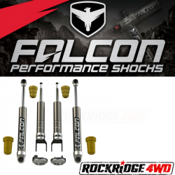 Falcon Shocks - 2009+ RAM 1500 Falcon Sport Shocks Leveling System - 06-04-21-400-002