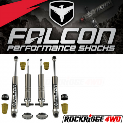 Falcon Shocks - 2014+ Chevrolet Silverado 1500 & GMC Sierra 1500 Falcon Sport Shocks Leveling System Package - 07-04-21-400-002
