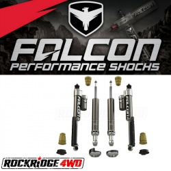 Falcon Shocks - 2016+ Toyota Tacoma Falcon Sport Shocks Leveling System - 08-04-21-400-002