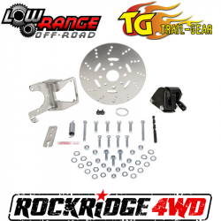SAMURAI - Clutch & Brake Components - TRAIL-GEAR - Low Range Suzuki Samurai Transfer Case Mounted E-Brake Kit - SB-EBK-LR