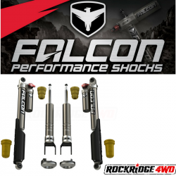 Falcon Shocks - 2009+ Ram 1500 Falcon Sport Shocks Tow/Haul Leveling System - 06-04-32-400-002