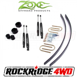 "Jeep XJ Cherokee 84-01 - Zone Offroad Products - Zone Offroad - Zone Offroad 2"" Jeep Cherokee XJ 84-01 Suspension System - J4N / J5N"