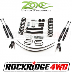 "Jeep XJ Cherokee 84-01 - Zone Offroad Products - Zone Offroad - Zone Offroad 4.5"" Jeep Cherokee XJ 84-01 Suspension System - J8N / J9N"