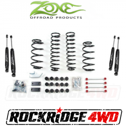 "Jeep LJ Wrangler 04-06 - Zone Offroad Products - Zone Offroad - Zone Offroad 4.25"" Combo Lift Kit for 97-06 Jeep Wrangler TJ/LJ/Rubicon - J25 / J26"