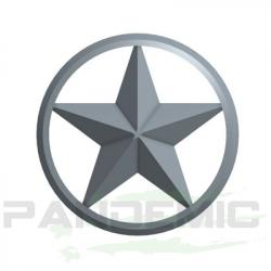 Pandemic - Pandemic Jeep JK Tailgate Plugs - Stars - Pair - PAN-P-3 - Image 2