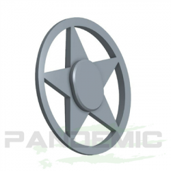 Pandemic - Pandemic Jeep JK Tailgate Plugs - Stars - Pair - PAN-P-3 - Image 3