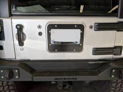 Pandemic - Pandemic Jeep JK Tailgate Plugs - Stars - Pair - PAN-P-3 - Image 4