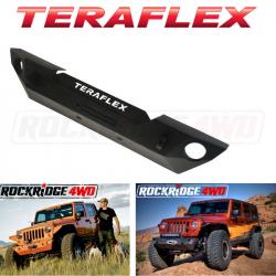 Jeep Wrangler JK 07-18 - Front Bumpers & Stingers - TeraFlex - Teraflex JK / JKU Epic Front Bumper w/out Hoop - Offset Drum Winch - 4653100