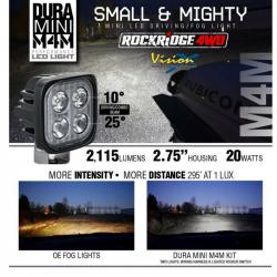 LED LIGHTS - DURALUX - VISION X Lighting - Vision X DURA MINI M4M - DURA-M4M