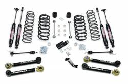 "Jeep TJ Wrangler 97-06 - TeraFlex - TeraFlex - TeraFlex TJ 4"" Lift Kit w/ Lower Flex Arms with 9550 Shocks - 1456432"