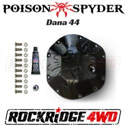 Poison Spyder - Poison Spyder Bombshell Diff Cover - Dana 44 - Black PC - 42-11-044-PC
