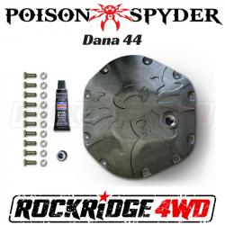 Poison Spyder - Poison Spyder Bombshell Diff Cover - Dana 44 - Bare - 42-11-044