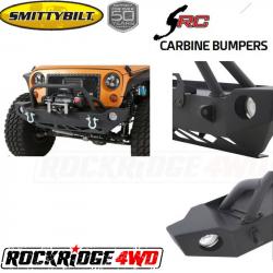 Jeep Wrangler JK 07-18 - Front Bumpers & Stingers - Smittybilt - SRC Carbine Front Bumper Wrangler JK 07-Pres Smittybilt