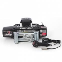Winches & Recovery Gear - 8,000 to 16,000 lbs Electric Winches - Smittybilt - Smittybilt X2O GEN2 12,000 lb Winch | Cable | Wireless | Waterproof