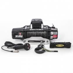 Winches & Recovery Gear - 8,000 to 16,000 lbs Electric Winches - Smittybilt - Smittybilt X2O GEN2 10,000 lb Winch Comp Series W/Synthetic Rope | Aluminum Fairlead | Wireless | Waterproof