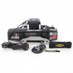 Winches & Recovery Gear - 8,000 to 16,000 lbs Electric Winches - Smittybilt - Smittybilt X2O GEN212,000 lb Winch Comp Series W/Synthetic Rope | Aluminum Fairlead | Wireless | Waterproof