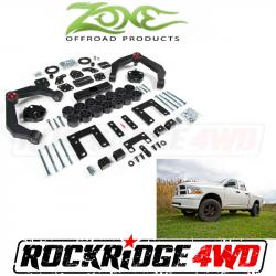 "Zone Offroad 4"" Combo Lift Kit 09-11 Ram 1500 4WD - D60"