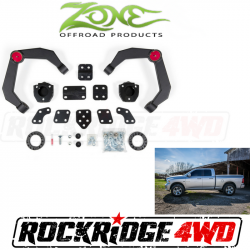 """2006-08 Dodge 1/2 Ton Pickup - Zone Offroad Products - Zone Offroad - Zone Offroad 2.5"""" Adventure Series UCA Lift System 06-11 Ram 1500 4WD - D48"""