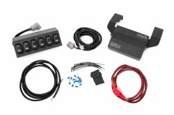 sPod Switch Panel Systems - Jeep Wrangler TJ / LJ 97-06 - Rough Country - ROUGH COUNTRY MLC-6 MULTIPLE LIGHT CONTROLLER (97-06 WRANGLER TJ) - 70956