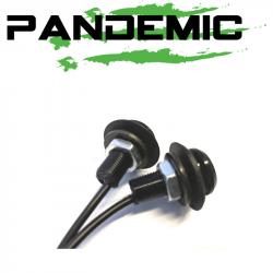 Pandemic - Pandemic Jeep JK Tailgate Plugs - Integrated LED 3rd Brake Lights - Pair - PAN-P-4 - Image 2