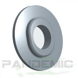 Pandemic - Pandemic Jeep JK Tailgate Plugs - Integrated LED 3rd Brake Lights - Pair - PAN-P-4 - Image 3