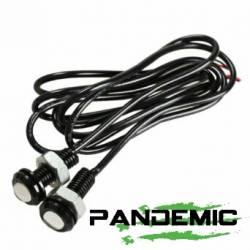 Pandemic - Pandemic Jeep JK Tailgate Plugs - Integrated LED 3rd Brake Lights - Pair - PAN-P-4 - Image 5
