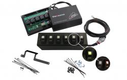 Shop By Brand - sPod Switch Panel Systems - sPod - sPod 6 Switch Panel System for 2009-2017 Jeep Wrangler JK/JKU *Select Options* - 600-0915