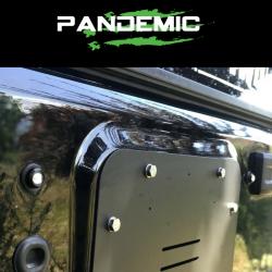 Pandemic - Pandemic Jeep JK Tailgate Plugs - Integrated LED 3rd Brake Lights - Pair - PAN-P-4 - Image 8