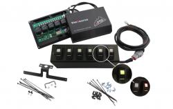 Shop By Brand - sPod Switch Panel Systems - sPod - Spod JK 6 SWITCH PANEL WITH DUAL LIT LED AMBER SWITCHES 07-08 WRANGLER JK - 600-07LT-LED