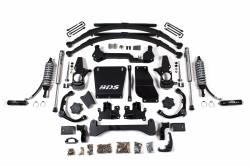 "4WD - 2001-2006 2500 NON-HD - BDS Suspension - BDS Suspension 7"" Coil-Over Lift Kit - 01-10 Chevy/GMC HD Truck & SUV 4WD - 738FDSC"