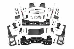 2009-16 Ford F150 - ROUGH COUNTRY - Rough Country - Rough Country 6IN FORD SUSPENSION LIFT KIT (2014 F-150 4WD) *Select Shocks* - 575.22,575.24,57550
