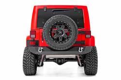 Jeep Wrangler JK 07-18 - Rear Bumpers & Tire Carriers - Rough Country - Rough Country JEEP ROCK CRAWLER REAR HD BUMPER (07-18 WRANGLER JK) - 10528