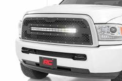 Rough Country - Rough Country DODGE MESH GRILLE W/30IN DUAL ROW BLACK SERIES LED (13-18 RAM 2500/3500) - 70152 - Image 3
