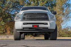Rough Country - Rough Country DODGE MESH GRILLE W/30IN DUAL ROW BLACK SERIES LED (13-18 RAM 2500/3500) - 70152 - Image 7