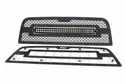 Rough Country - Rough Country DODGE MESH GRILLE W/30IN DUAL ROW BLACK SERIES LED (13-18 RAM 2500/3500) - 70152 - Image 8