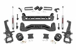Rough Country - Rough Country 4IN FORD SUSPENSION LIFT KIT (04-08 F-150 2WD) - 52330
