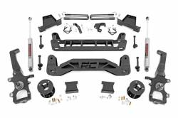 Rough Country - Rough Country 6IN FORD SUSPENSION LIFT KIT (04-08 F-150 2WD) - 52430,52431