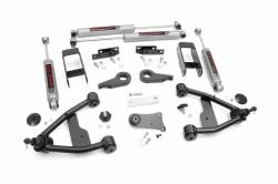 "CHEVY / GMC - 1988-91 Chevy / GMC Blazer, Jimmy Surburban - Rough Country - Rough Country 2.5"" Suspension Lift Kit for Chevy/GMC 1982-2004 S-10/15 Pickup/Blazer/Jimmy - 24230"