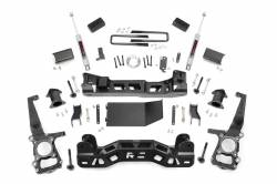 2009-16 Ford F150 - ROUGH COUNTRY - Rough Country - Rough Country 4IN FORD SUSPENSION LIFT KIT (11-13 F-150 4WD) - 559S,559.24
