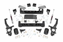 2005-2018 Nissan Frontier - Rough Country - Rough Country 6IN NISSAN SUSPENSION LIFT KIT (05-18 FRONTIER) - 87930,87932