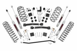 "Jeep WJ Grand Cherokee 99-04 - Rough Country - Rough Country - Rough Country 1999-2004 WJ Grand Cherokee 4"" X-series Suspension Lift Kit   - 639P"