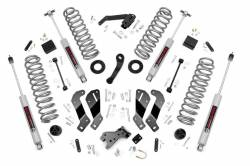 Rough Country - Rough Country 3.5IN JEEP SUSPENSION LIFT KIT | CONTROL ARM DROP (07-18 WRANGLER JK) *Select Model & Shock Options* - 69330,69330V - Image 1