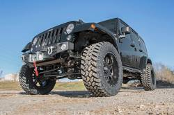 Rough Country - Rough Country 3.5IN JEEP SUSPENSION LIFT KIT | CONTROL ARM DROP (07-18 WRANGLER JK) *Select Model & Shock Options* - 69330,69330V - Image 3