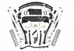 Rough Country - Rough Country 6.5IN JEEP LONG ARM SUSPENSION LIFT SYSTEM (84-01 XJ CHEROKEE) *Choose Engine & T-Case* - 60722-67222-61822,60222