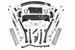 "Rough Country - Rough Country 1984-2001 4wd Jeep XJ 4.5"" Long Arm Suspension *Select Options* - 60622-61422-61622-68922,60122,68622"