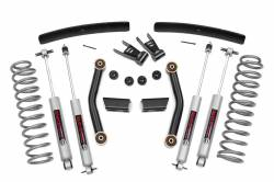 "Jeep - Jeep MJ Comanchee 86-93 - Rough Country - Rough Country 1986-1993 Jeep MJ Comanche 4.5"" Suspension Lift Kit  - 62630"